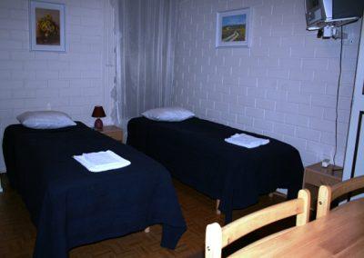 Kirkkokujan kaksion makuuhuone
