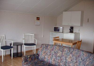 Niinivaara keittiö ja olohuone -alue